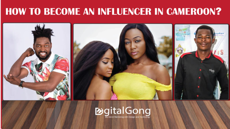 Some influencers in Cameroon