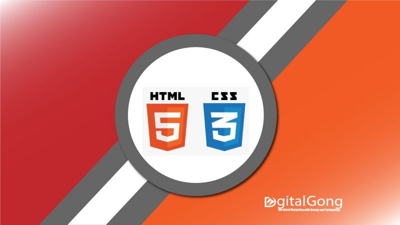 web development with HTML and CSS